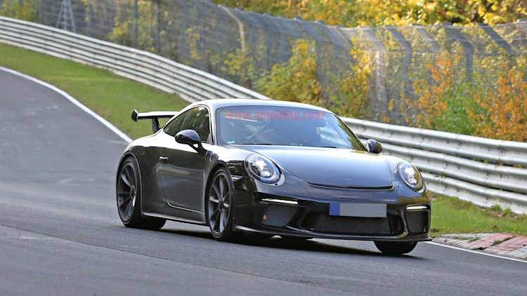 the 2017 porsche 911 gt3 will get a great facelift to go with the manual everyone wants autoblog. Black Bedroom Furniture Sets. Home Design Ideas
