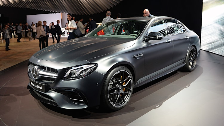 2018 Mercedes Amg E63s Debuts In La With 603 Horse Typically The Arrival Of A New Benz E Cl Is Like An Etizer At Fine Meal