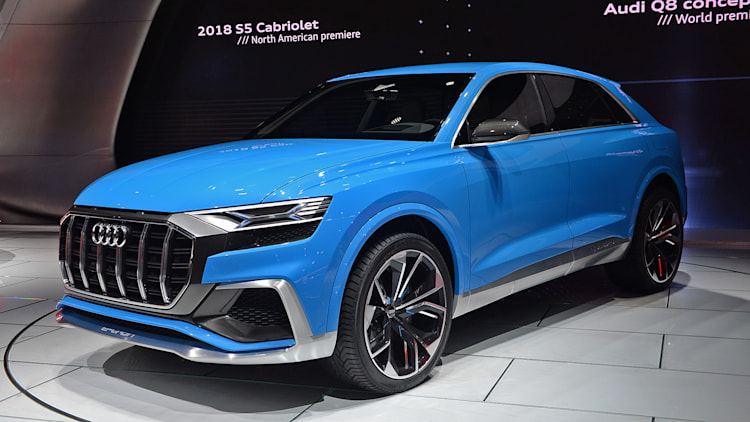 audi q8 concept detroit 2017 photo gallery autoblog. Black Bedroom Furniture Sets. Home Design Ideas