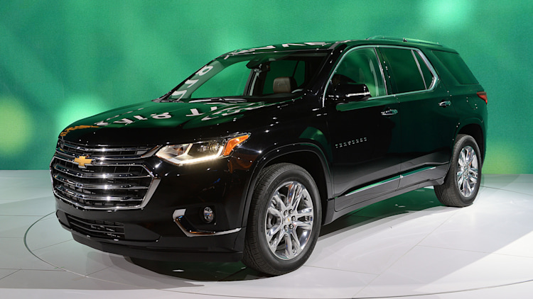 The 2018 Chevy Traverse is roomier and looks stronger ...