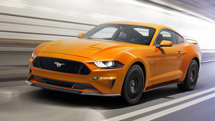 Refreshed 2018 Ford Mustang