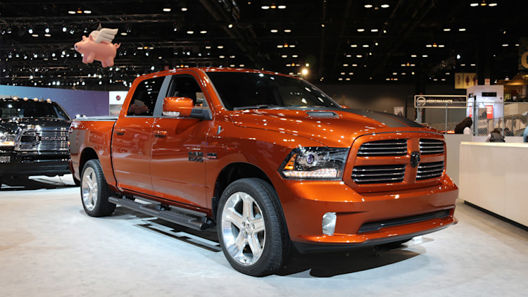 Ram 1500 Copper Sport 2017 Chicago Auto Show Photo