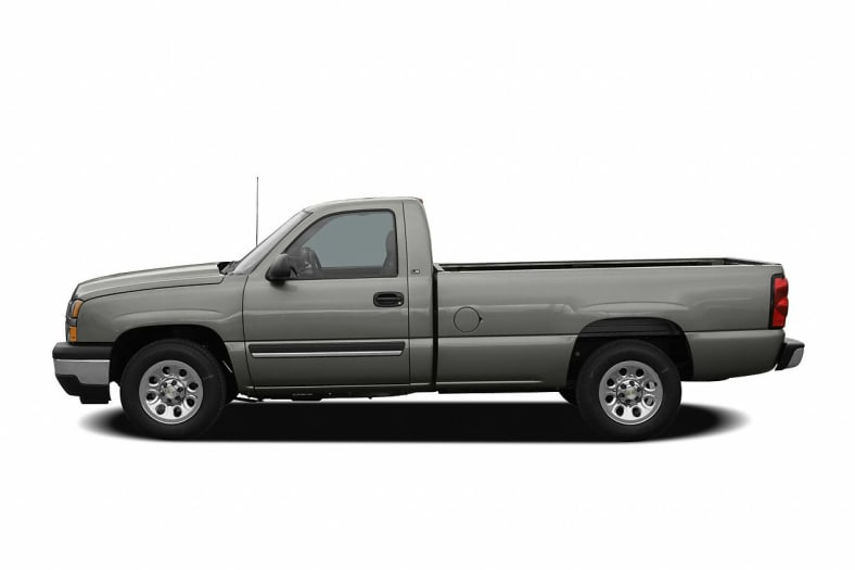 2006 chevrolet silverado 1500 work truck 4x4 regular cab 6 5 ft box 119 in wb pictures. Black Bedroom Furniture Sets. Home Design Ideas