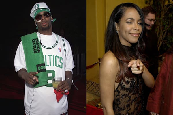 Aaliyah And R Ke...R Kelly And Aaliyah
