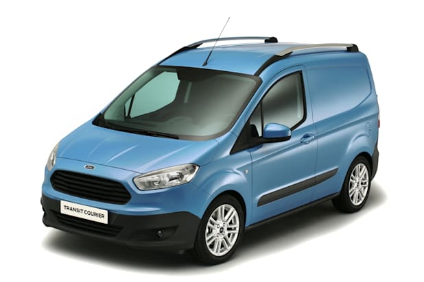 New Ford Courier Van