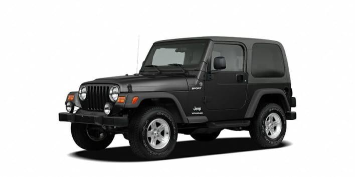 2005 jeep wrangler x 2dr 4x4 specs. Black Bedroom Furniture Sets. Home Design Ideas