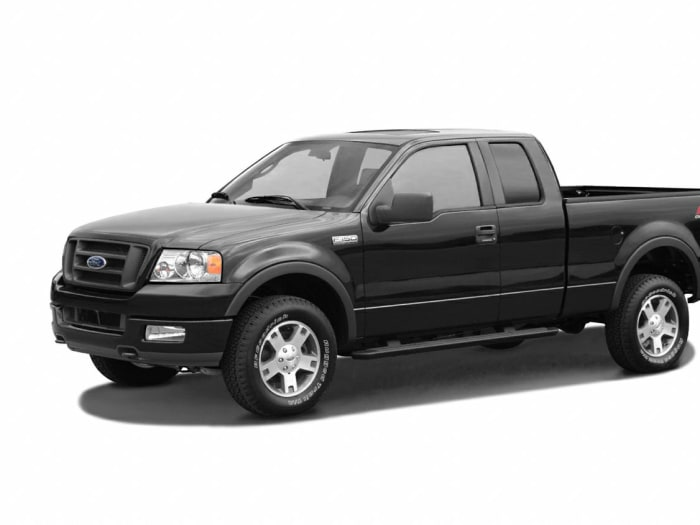 2005 ford f 150 xl 4x4 super cab styleside 6 5 ft box 145 in wb for sale. Black Bedroom Furniture Sets. Home Design Ideas