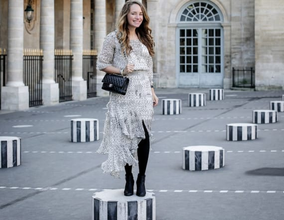 Street style tip of the day: Parisian chic