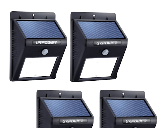 These solar lights can be installed in seconds
