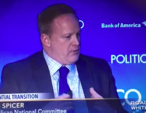Video of Spicer making damning claim resurfaces