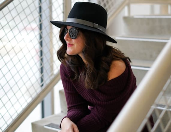 The ultimate sweater dress and how to style it