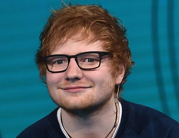 This baby looks exactly like Ed Sheeran