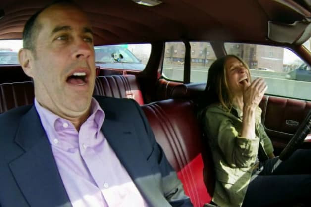 Comedians in cars getting coffee Jerry Seinfeld doesnt love Sarah Jessica Parkers new Country Squire in latest CiCGC by Authcom, Nova Scotia\s Internet and Computing Solutions Provider in Kentville, Annapolis Valley