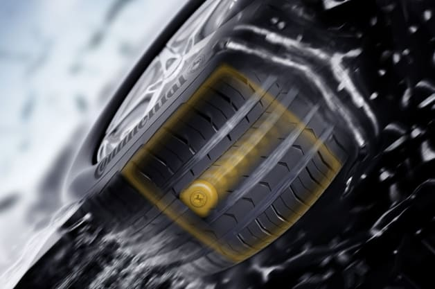 continental tire readying new tread depth monitor for passenger cars first pit stop. Black Bedroom Furniture Sets. Home Design Ideas