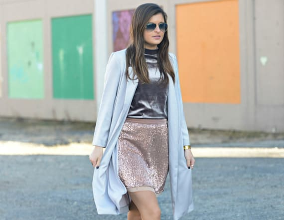 Street style tip of the day: Mixing textures