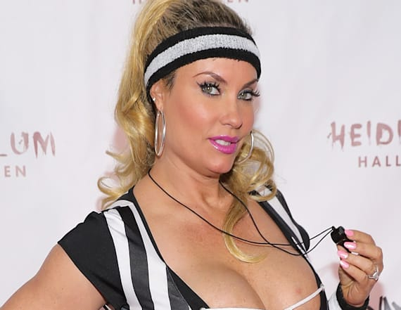 Coco Austin's busty Halloween costume