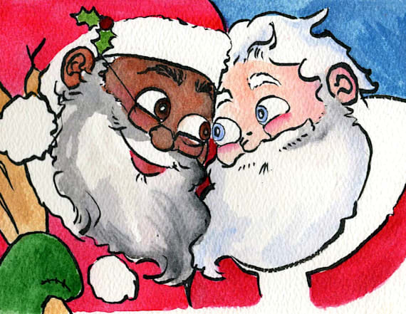 Book to show Santa in a same-sex relationship