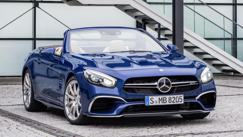 2017 Mercedes SL leaks online ahead of LA debut