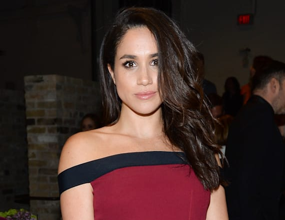 Meghan Markle dropped a hint about Prince Harry