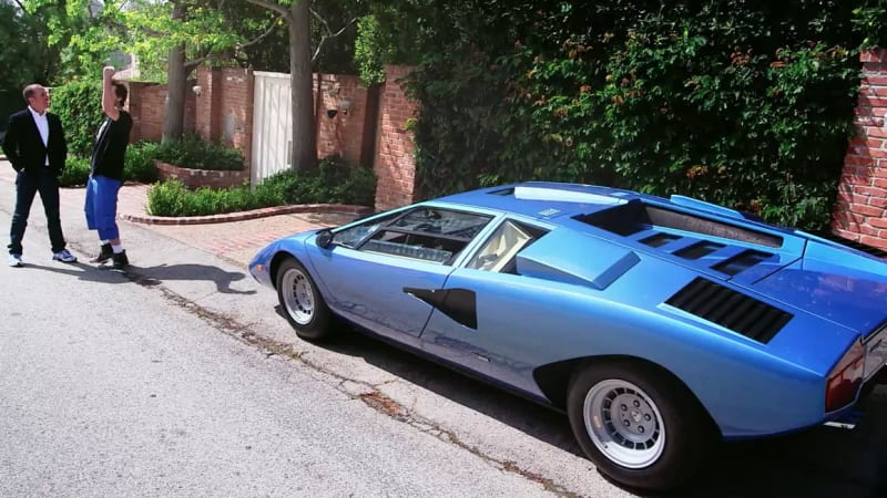 comedians in cars getting coffee teases return with a countach. Black Bedroom Furniture Sets. Home Design Ideas