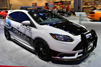 Three Of Four Focus Sts Show Up In Ford Display At Sema