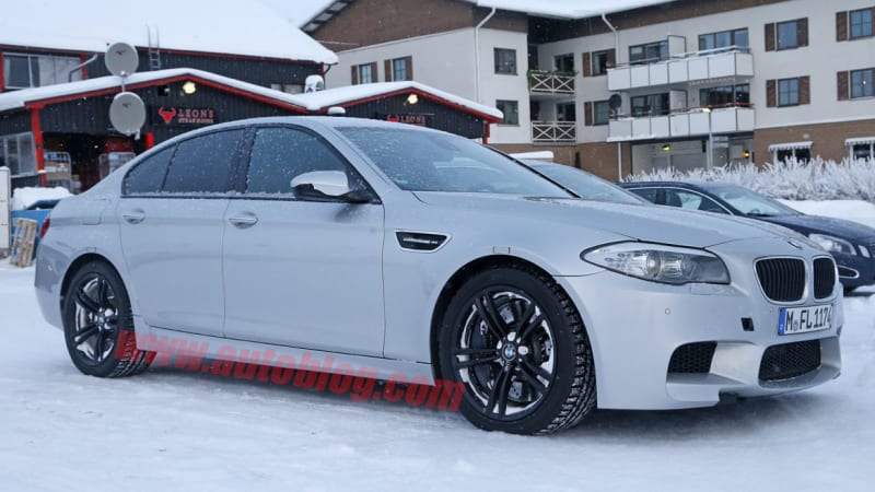 AWD BMW M5 is headed our way