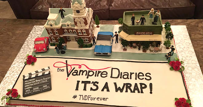 'The Vampire Diaries' Wraps: See Cast's Beautiful Final Day Posts