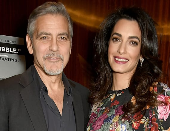 The Clooneys altering lives in big way before twins