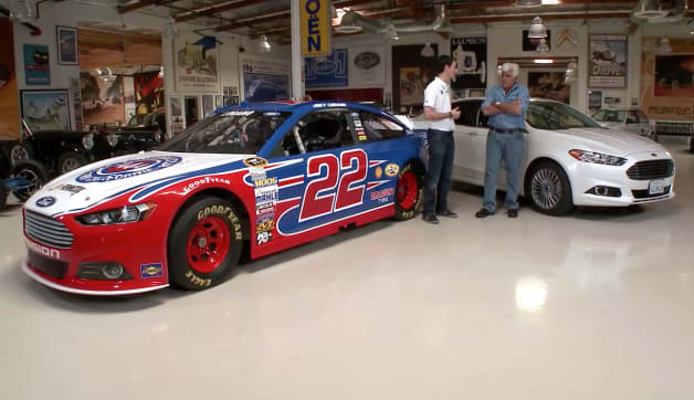 Jay Lenos Garage Joey Logano Leno talks racing with NASCAR racer Joey Logano by Authcom, Nova Scotia\s Internet and Computing Solutions Provider in Kentville, Annapolis Valley