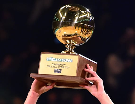 Player joins storied list of NBA slam dunk champs