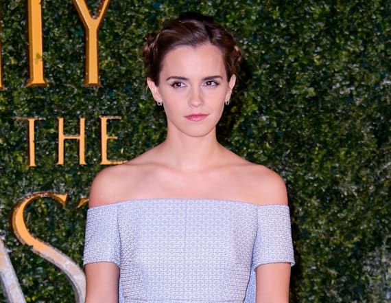 Emma Watson stuns in gorgeous gown