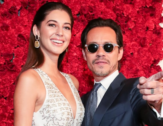 Marc Anthony and girlfriend make public debut