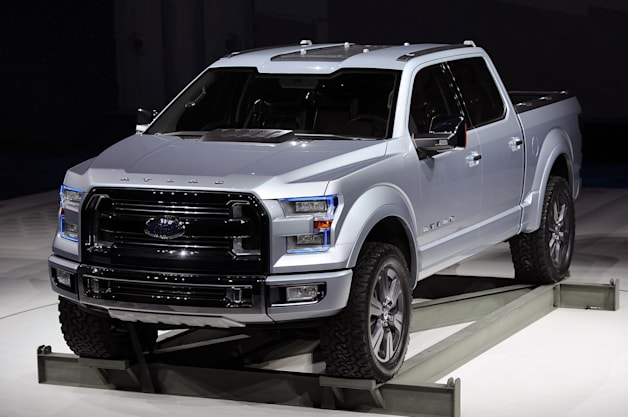 ford bringing production f 150 to detroit with atlas styling and alcoa blast shields. Black Bedroom Furniture Sets. Home Design Ideas