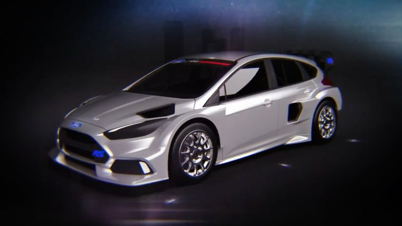 Ken Block will race a 600-hp Ford Focus RS in FIA rallycross [UPDATE]