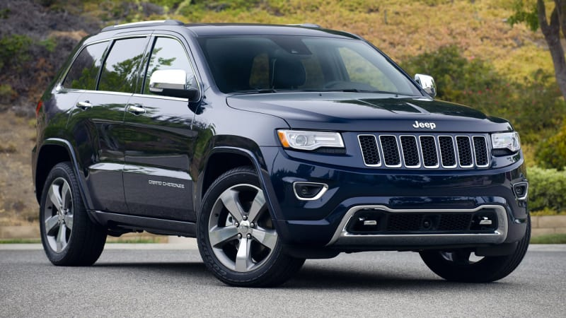 2014 jeep grand cherokee overland review photo gallery autoblog. Black Bedroom Furniture Sets. Home Design Ideas