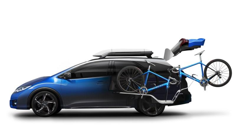 Honda Civic Tourer... now with bikes!