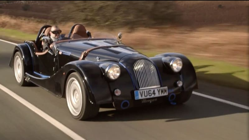 xcar drives morgan plus 8 speedster autoblog. Black Bedroom Furniture Sets. Home Design Ideas