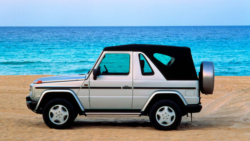 Mercedes considering convertible SUV