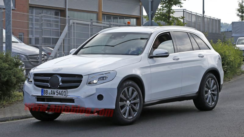 mercedes glc spotted nearly nude ahead of tomorrow 39 s reveal peachparts mercedes benz forum. Black Bedroom Furniture Sets. Home Design Ideas