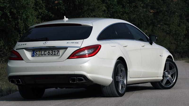 Mercedes dropping Shooting Brake from next CLS-Class