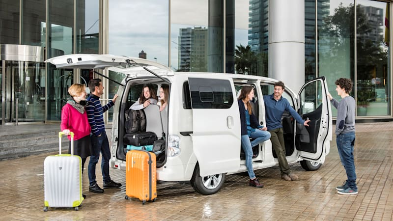 Nissan introduces new seven-seat e-NV200 electric minivan