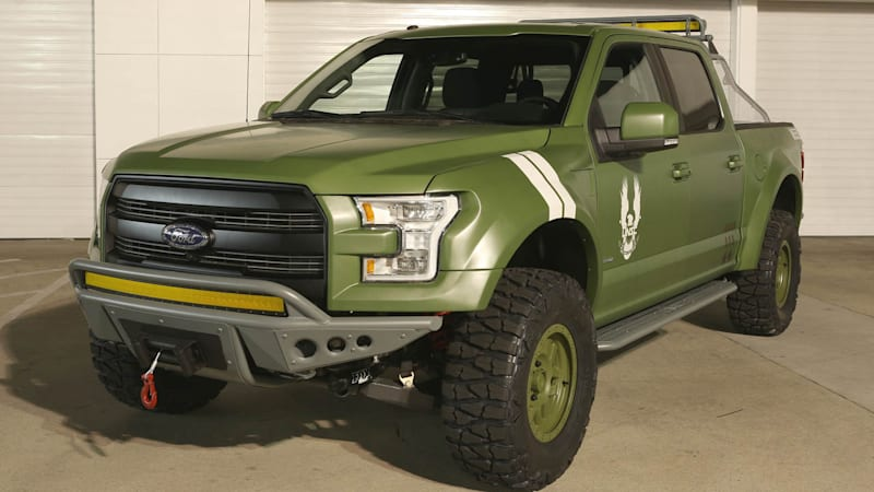 Ford creates F-150 Sandcat to promote Halo 5: Guardians