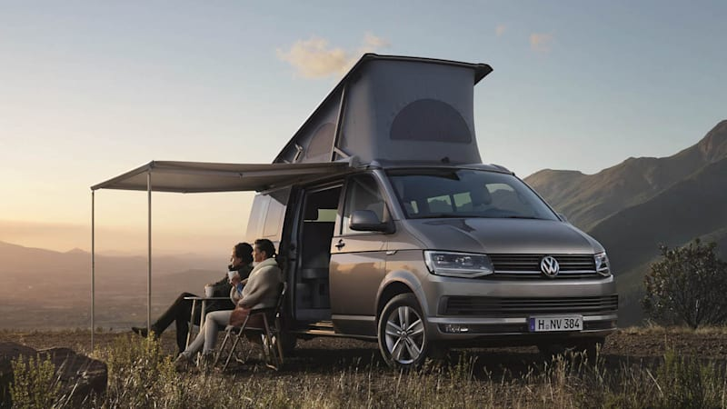 vw rolls out new california camper van autoblog. Black Bedroom Furniture Sets. Home Design Ideas