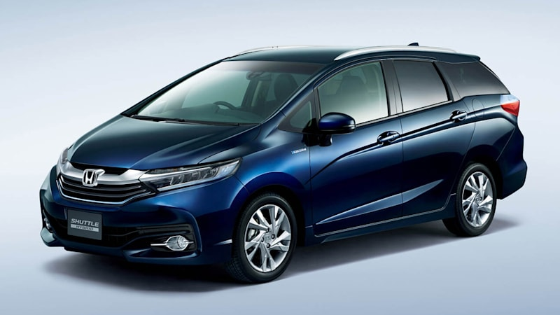 Honda stretches new Shuttle to Fit the Japanese market