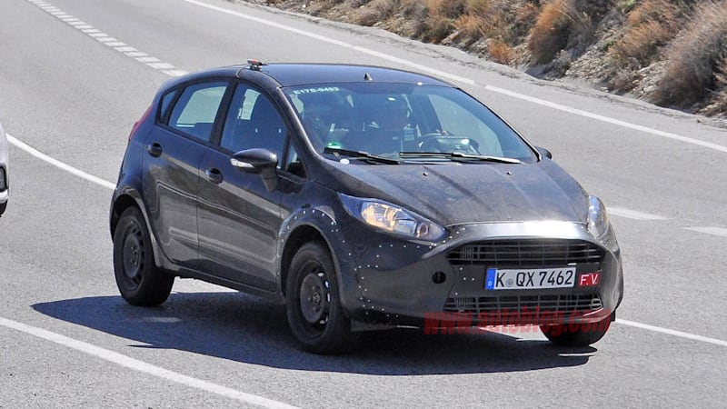 A 250-hp Ford Fiesta RS might arrive in 2017