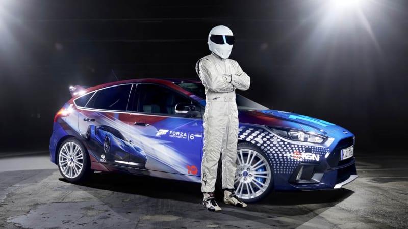 The Stig drives Forza-liveried Ford Focus RS to Gamescom
