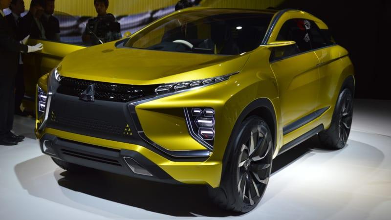 Mitsubishi eX Concept portends an electric future - Autoblog