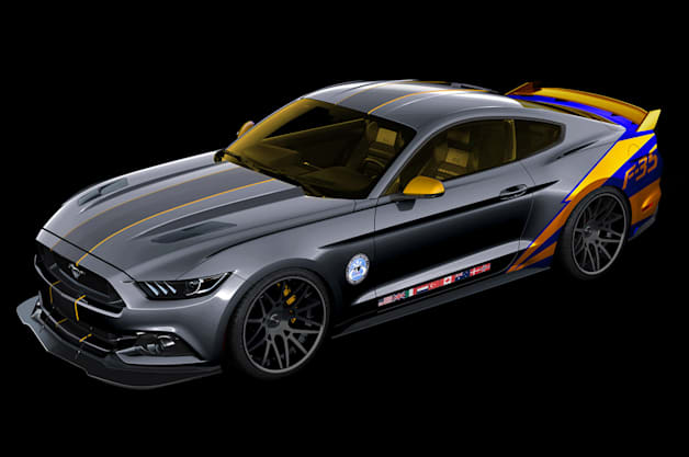 2015 mustang 35 airventure Ford auctioning off F 35 themed 2015 Mustang for charity by Authcom, Nova Scotia\s Internet and Computing Solutions Provider in Kentville, Annapolis Valley