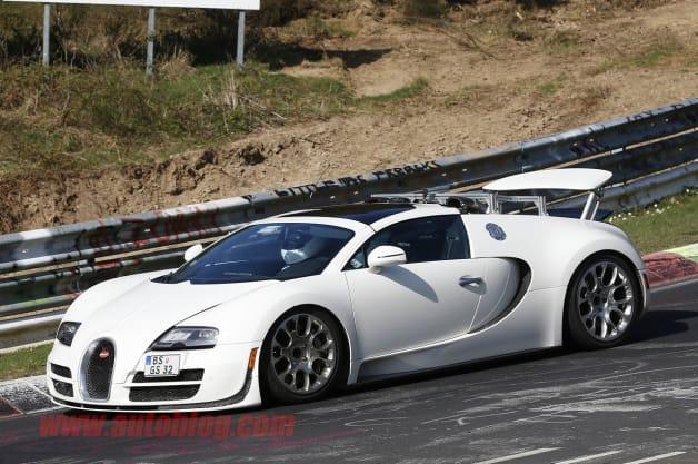 Bugatti Veyron Test Car