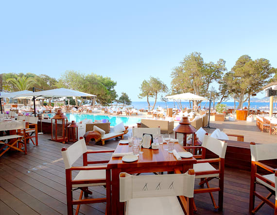 This beach club is the stuff of dreams